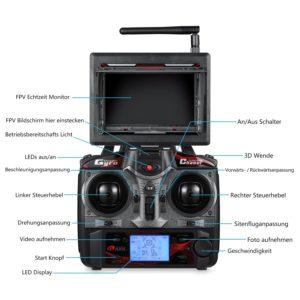 Fernsteuerung FPV Drohne